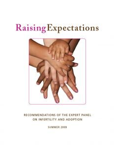 The Ontario Expert Panel on Infertility and Adoption releases its report called Raising Expectations